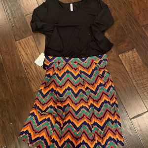 LuLaRoe Madison XL Skirt